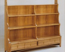 Bookcase in English Walnut A